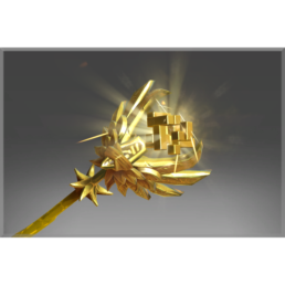 Inscribed Golden Staff of Perplex
